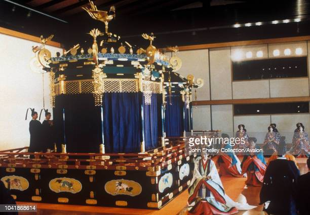 Enthronement of Emperor Akihito 8th November 1990