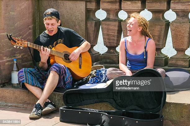 Enthusiastic Buskers