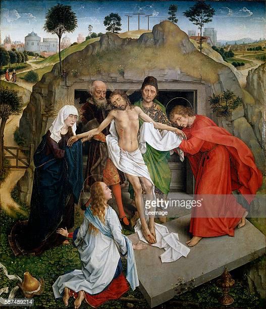 Entombment by Rogier van der Weyden 96x110 cm Galleria degli Uffizi Florence Italy