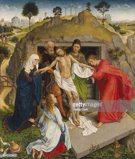 Entombment by Rogier van der Weyden