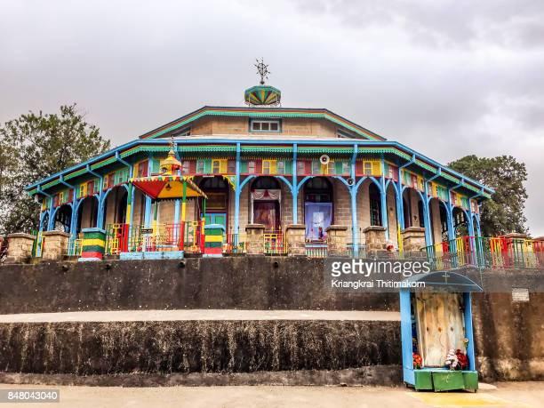 Entoto Maryam Church in Addis Ababa, Ethiopia
