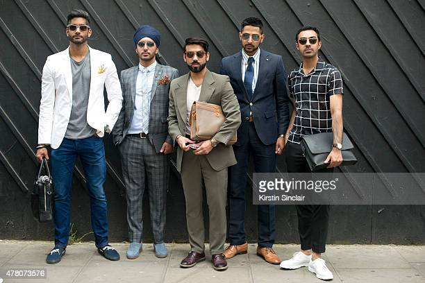 Entouraaj magazine Editor Gary Singh wears Scotch and Soda jeans Antony Morato jacket Swim shoes Duchamp Pocket Square and Ray Ban sunglasses With...