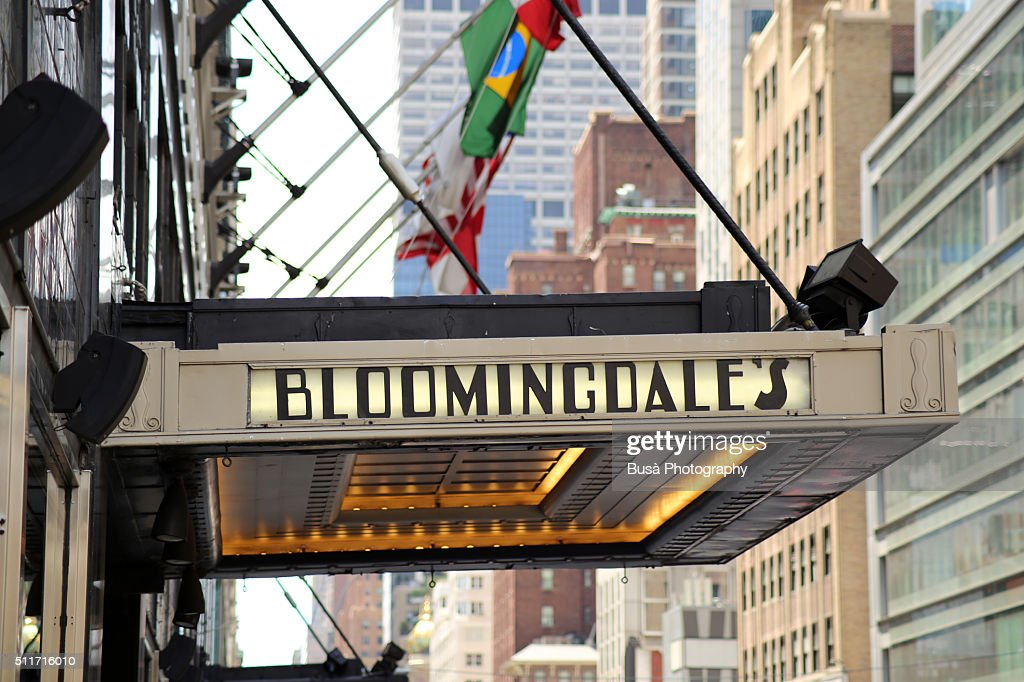 Entrance Canopy Of The Original Bloomingdales In Midtown Manhattan At 1000 3rd Avenue 59th Street And Lexington New York