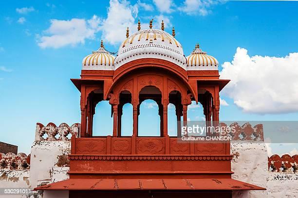 Entrance gate of Bhandasar Jain Temple