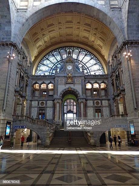 Entrance Hall Antwerpen Central Station, Belgium