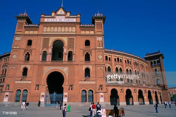 Entrance of a bullring, Las Ventas Bullring, Madrid, Spain