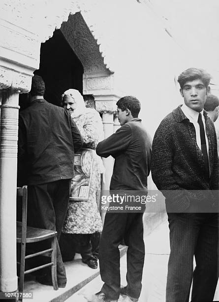Entrance Of An Algiers Brothel In Algeria On March 14Th 1969
