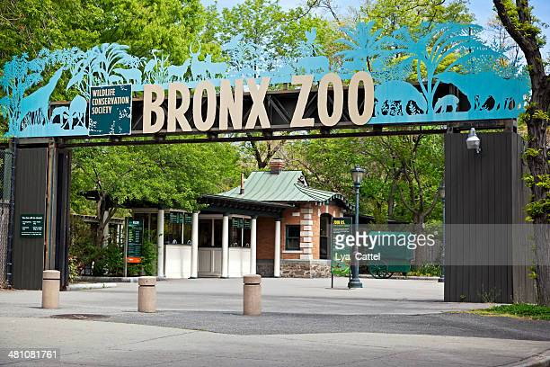 Entrance of Bronx Zoo