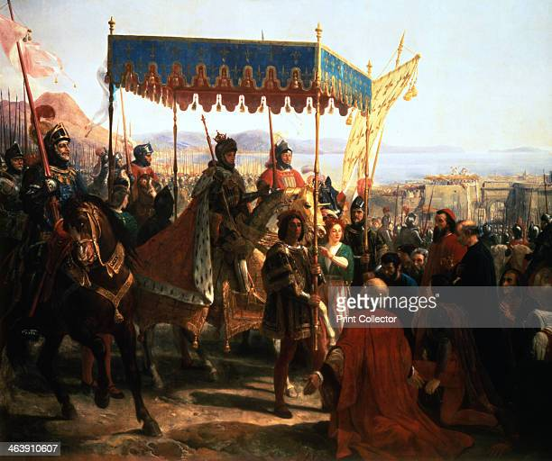 'Entrance of Charles VIII into Naples 12th May 1495' From the Palace of Versailles France