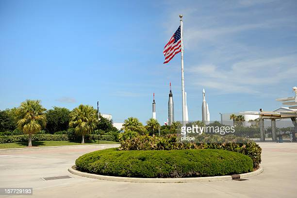 Eingang des Kennedy Space Center visitor complex