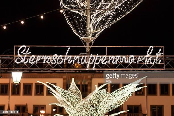 Entrance of Sternschnuppenmarkt, Wiesbaden