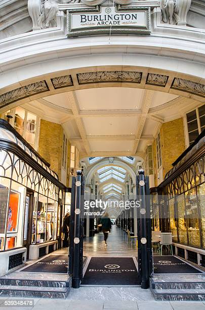 Entrance of the Burlington Arcade Shopping Mall