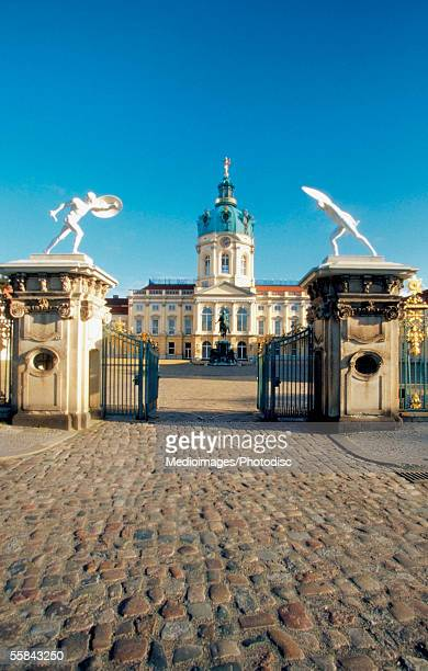 Entrance of the Charlottenburg Palace, Berlin, Germany