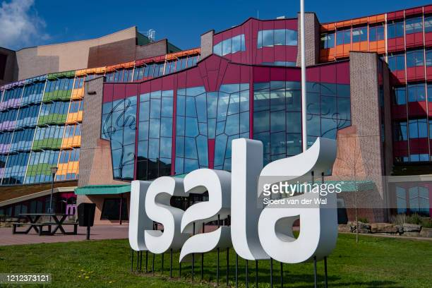 Entrance of the Isala hospital on March 14, 2020 in Zwolle, Netherlands.The government has advised citizens to stay at home if you have a cold, a...