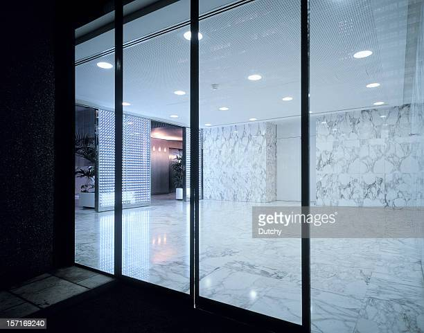 entrance - sliding door stock pictures, royalty-free photos & images