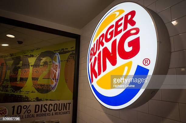 Entrance to a Burger King fast food restaurant in New York on Monday August 25 2014 Restaurant Brands International the parent of Burger King and Tim...