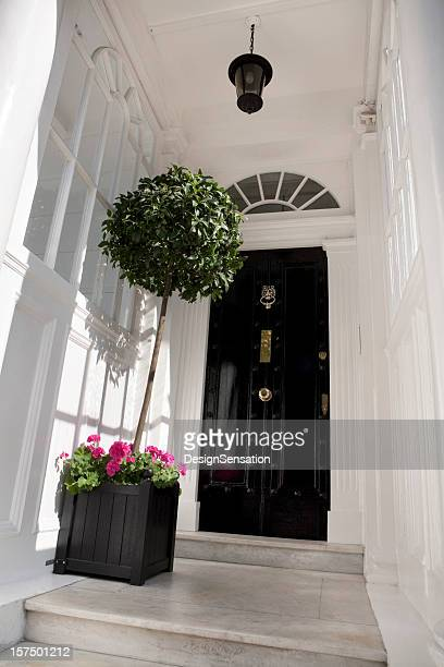 Entrance to a central London House