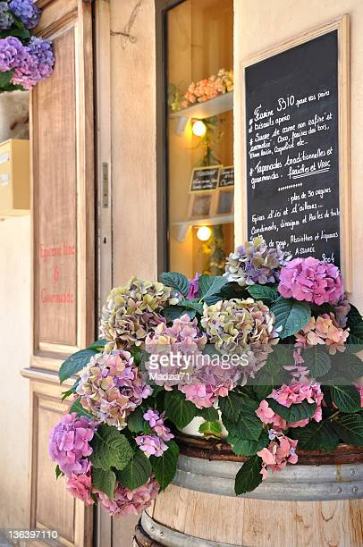 Entrance to a Provencal grocery