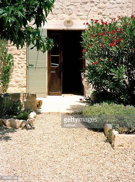 Entrance to a villa, Provence, France