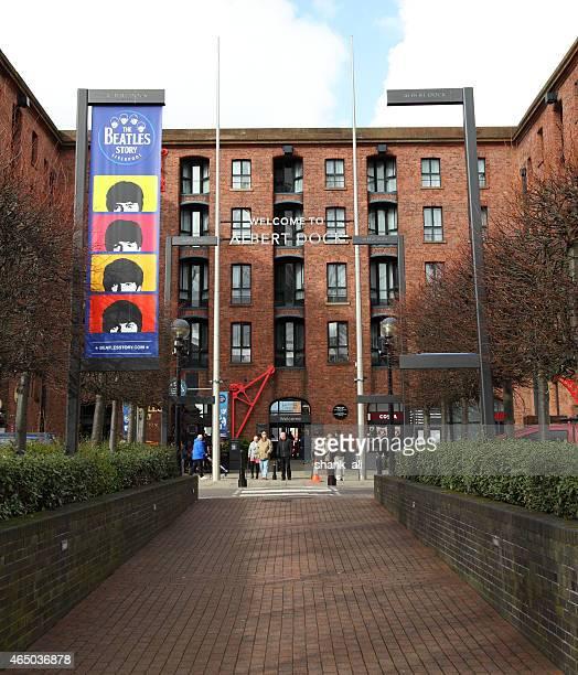entrance to Albert Dock ,Liverpool