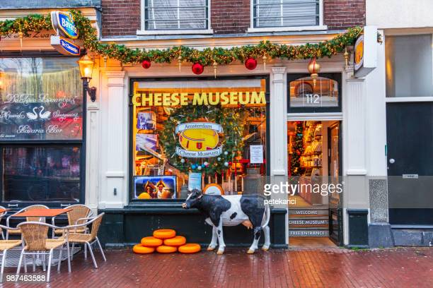 Entrance to Amsterdam's Cheese Museum
