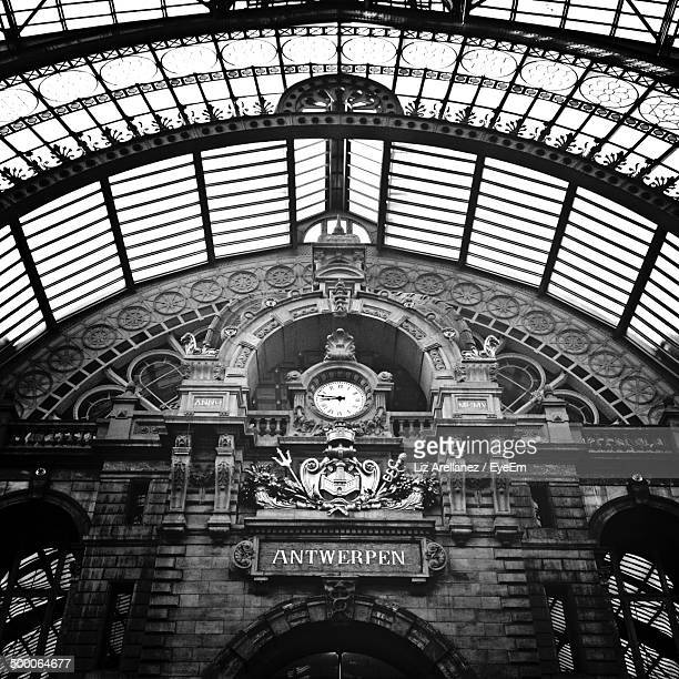 Entrance to Antwerp Station