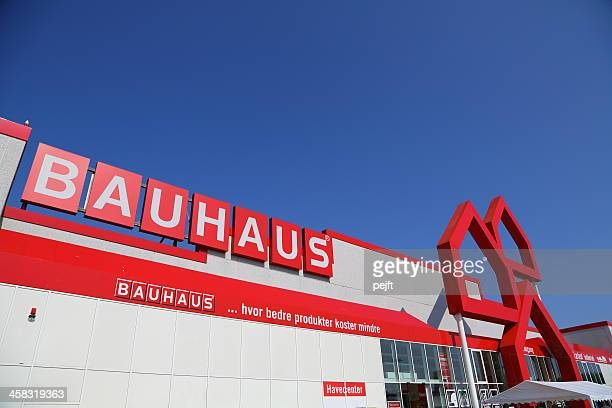 Entrance to Bauhaus DIY megastore