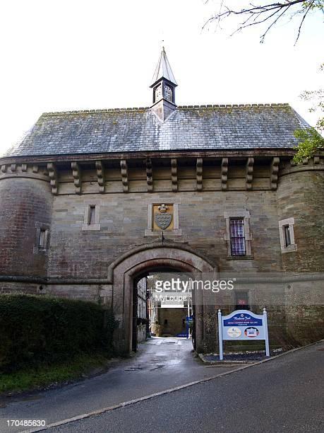 Entrance to Bodmin Jail Bodmin England United Kingdom
