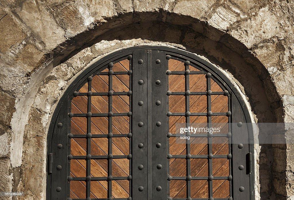 Entrada del castillo : Foto de stock