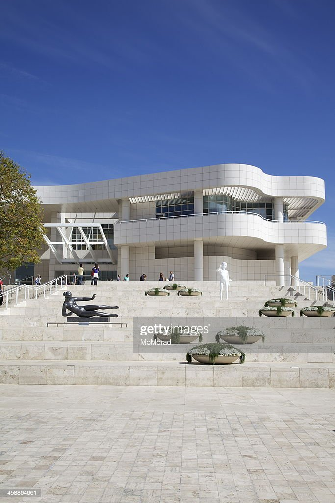 Entrance to Getty Centre, Los Angeles : Stock Photo