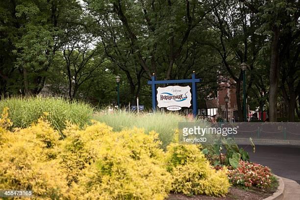entrance to hersheypark - terryfic3d bildbanksfoton och bilder