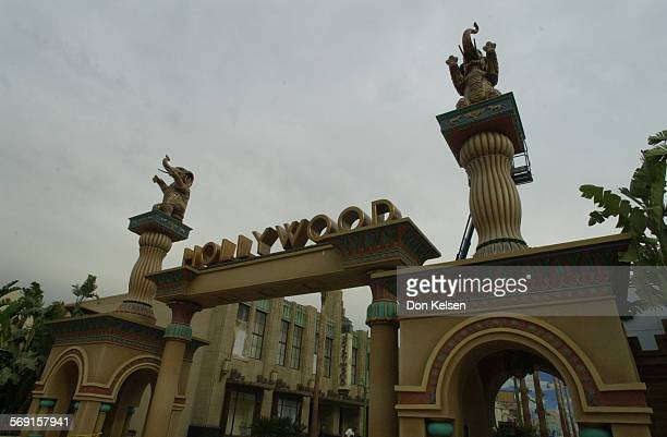 Entrance to Hollywood Pictures back lot a reverential and spirited recreation of the ultimate Hollywood movie studio The area located in Disney's...