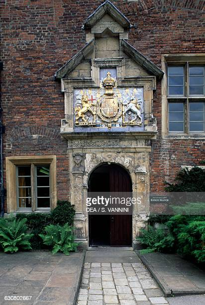 Entrance to King's Manor part or York University England United Kingdom