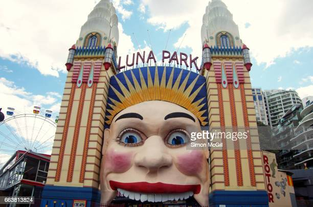 Entrance to Lunar Park, Milsons Point, Sydney, New South Wales, Australia