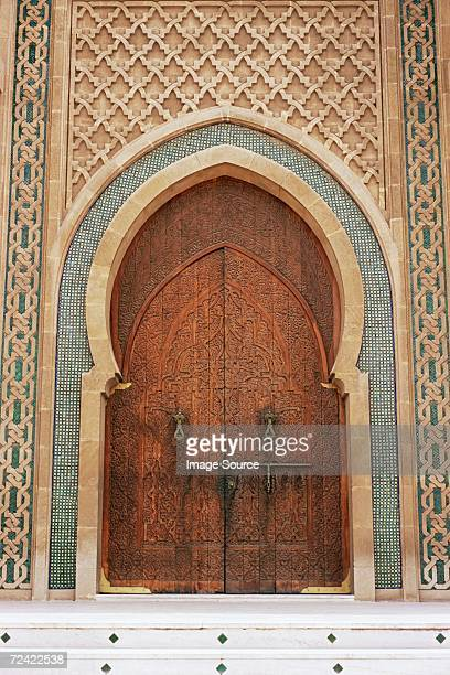 Entrance to mohammed v mosque