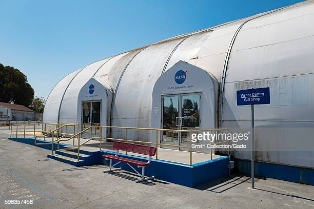 Entrance to NASA Ames Exploration Center a visitor center in the Silicon Valley town of Mountain View California August 25 2016