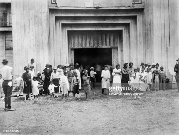 Entrance to Refugee Camp on Fair grounds after Race Riot, Tulsa, Oklahoma, USA, American National Red Cross Photograph Collection, June 1921.