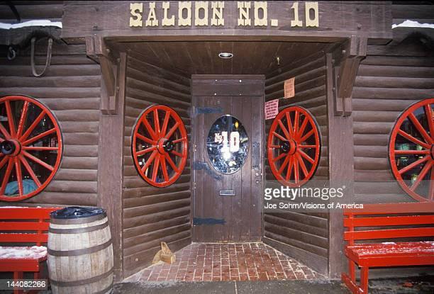 Entrance to saloon in Deadwood SD