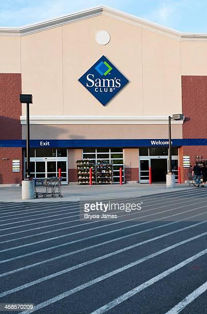 Entrance to Sam's Club Membership Warehouse
