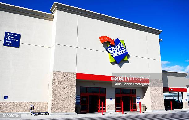 entrance to sam's club - sam's club stock pictures, royalty-free photos & images