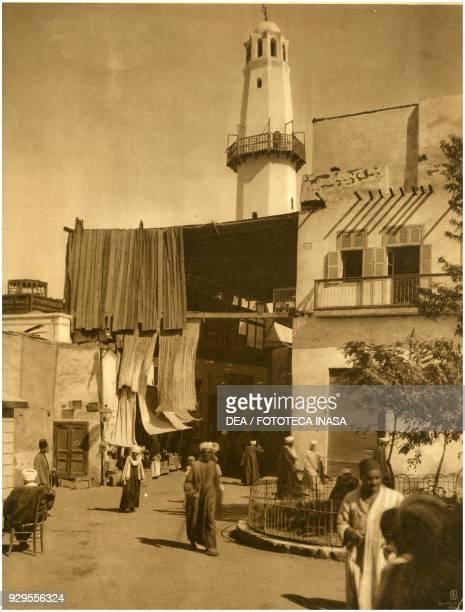 Entrance to the Aswan bazaar Egypt photograph by Lehnert and Landrock Cairo 19241930