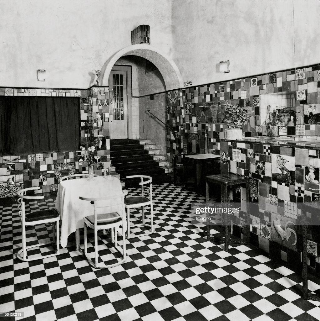 Entrance to the bar room of the Cabaret Fledermaus Pictures   Getty ...