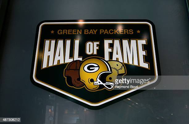 Entrance to the Green Bay Packers 'Hall Of Fame' inside the Lambeau Field atrium on August 31 2015 in Green Bay Wisconsin