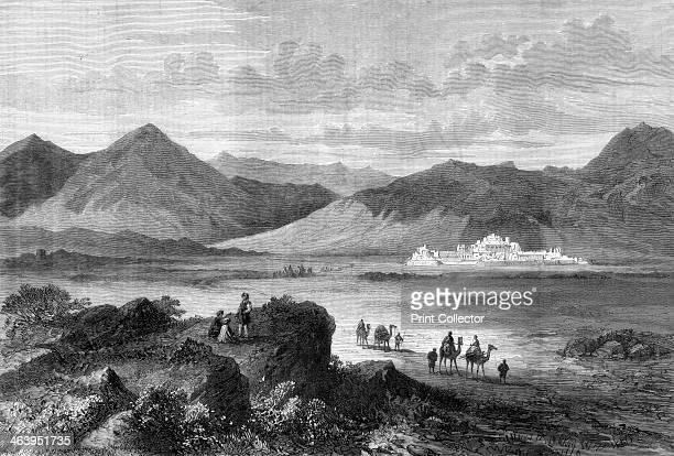 Entrance to the Khyber Pass and Fort of Jamrood Afghanistan 1878 A print from The Illustrated London News