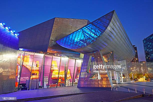 Entrance to the Lowry theatre and gallery complex