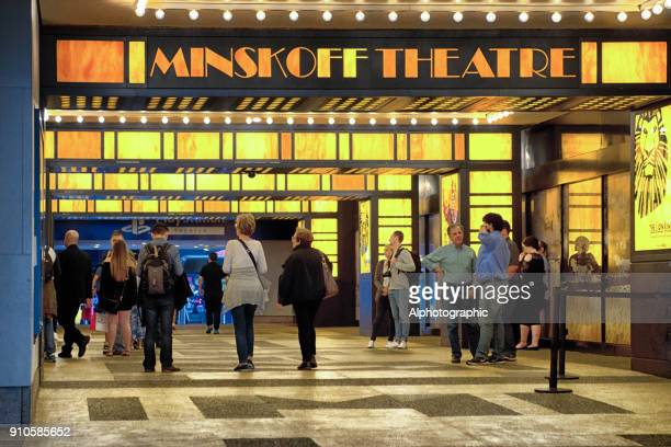 Entrance to the Minkoff Theatre