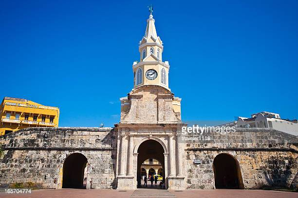 Entrance To The Old City In Cartagena, Colombia