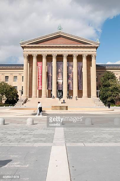 Eingang zum Philadelphia Museum of Art