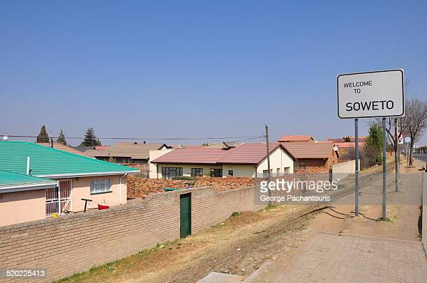 Entrance to the Soweto, South Africa
