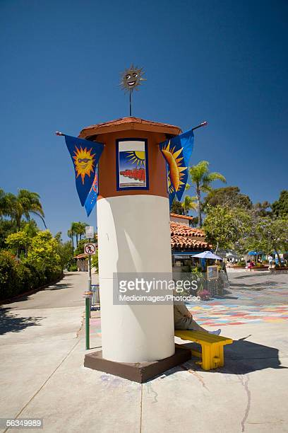 Entrance to the Spanish Village Art Center, Balboa Park, San Diego, California, USA